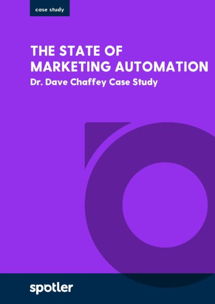 Dr Dave Chaffey: The State of Marketing Automation