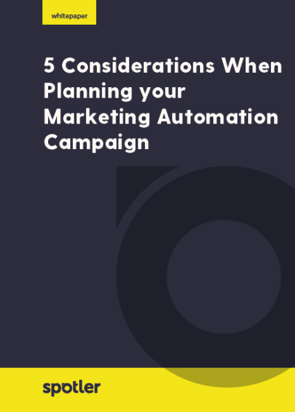 The Marketing Automation Cookbook