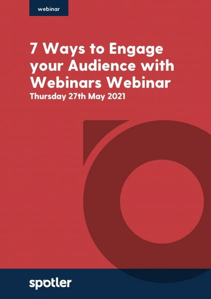 7 Ways to Engage your Audience with Webinars | Webinar