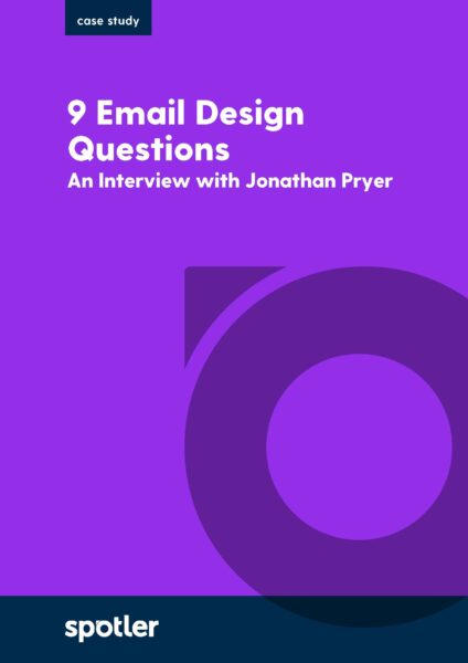 9 Email Design Questions Answered By Our In-house Expert