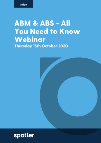 ABM & ABS - All you need to know Webinar