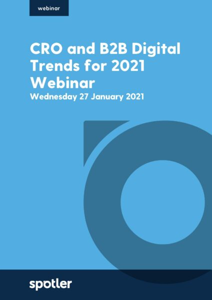 CRO and B2B Digital Trends for 2021 | Webinar with Dr Dave Chaffey
