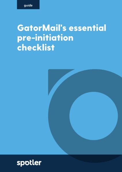 GatorMail's essential pre-initiation checklist