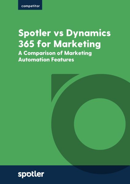 Spotler vs Dynamics 365 for Marketing