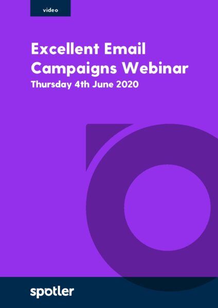 Excellent Email Campaigns | Webinar