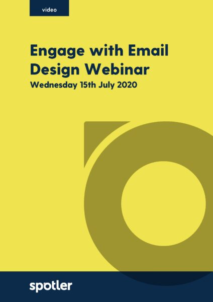 Engage with Email Design | Webinar