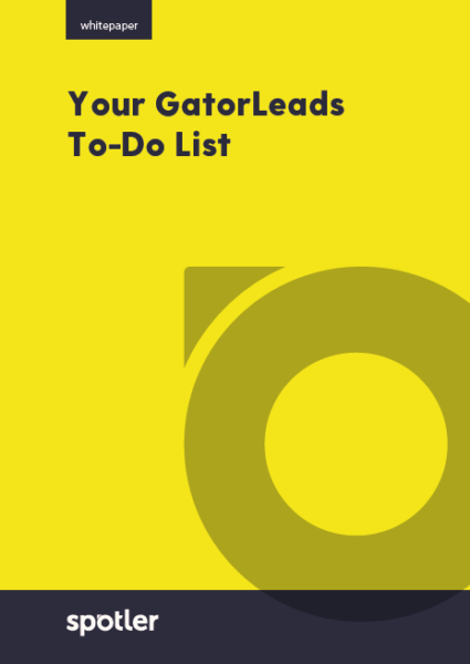 Your GatorLeads To Do List