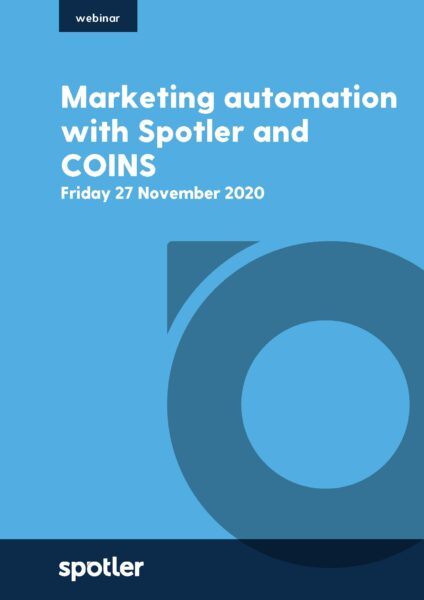 How to get the most out of marketing automation with Spotler & COINS Webinar