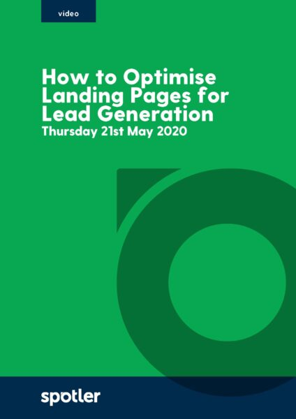 How to Optimise Landing Pages for Lead Generation