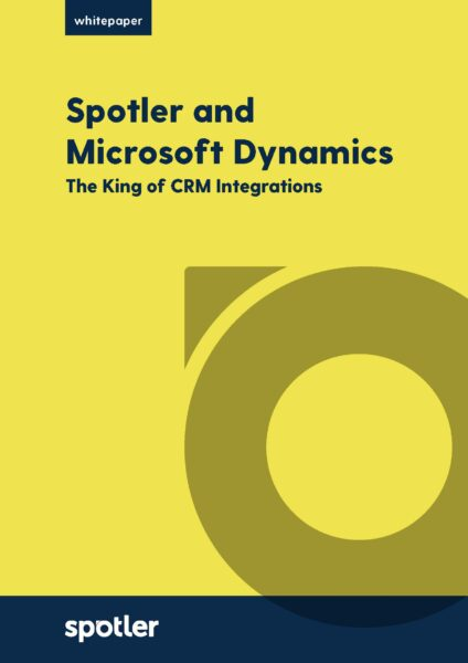 Spotler and Microsoft Dynamics - The King of CRM Integrations